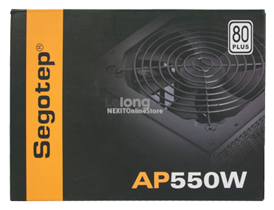 Segotep AP-550 550W 80 Plus Computer PC Desktop Power Supply unit PSU