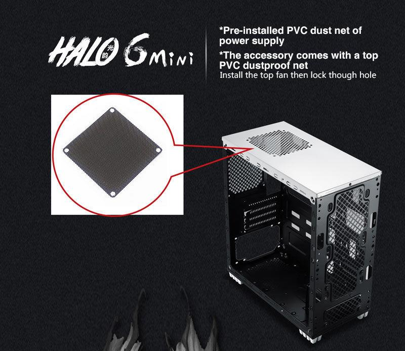 Segotep Halo 6 Mini Atx Gaming Case