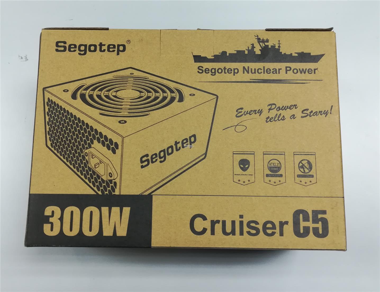 SEGOTEP PSU-C5 300W ATX POWER SUPPLY DESKTOP PC