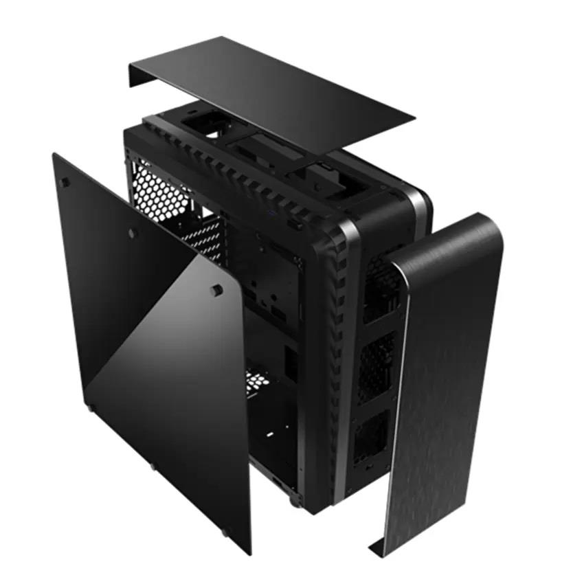 Segotep Raynor Tower T3 Rgb Aluminum Tempered Glass Atx Gaming Case