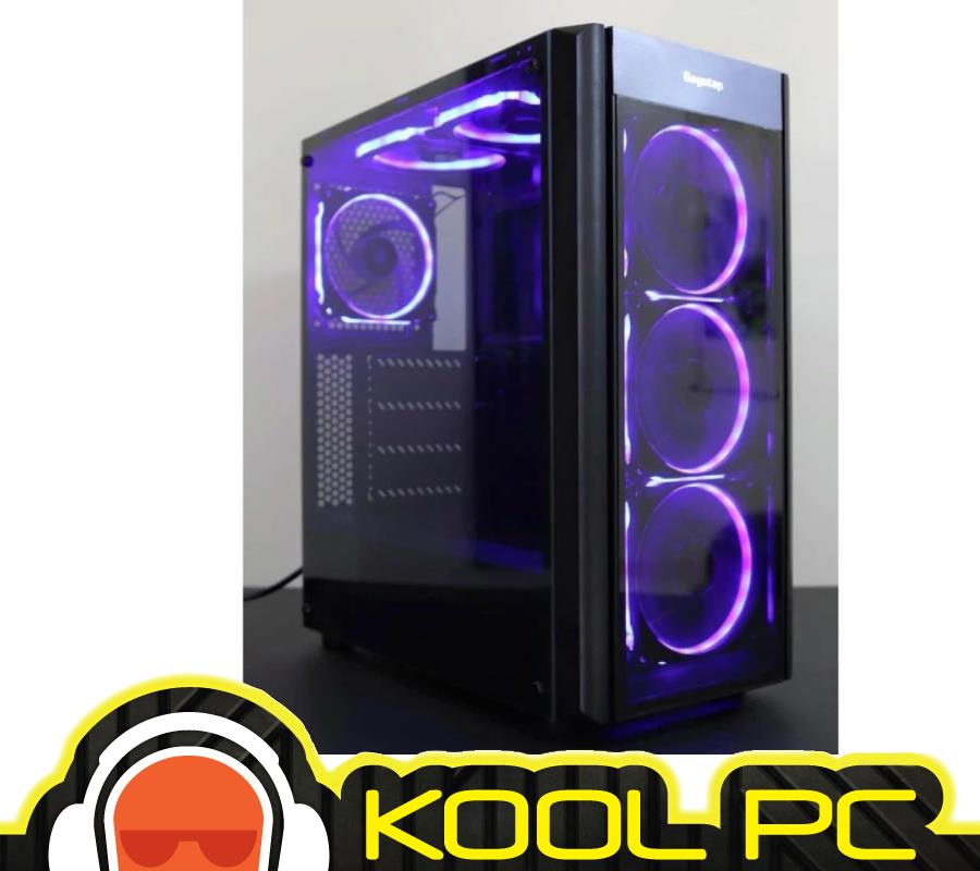 * SEGOTEP WIDER X3 WITH RGB ATX GAMING CASE