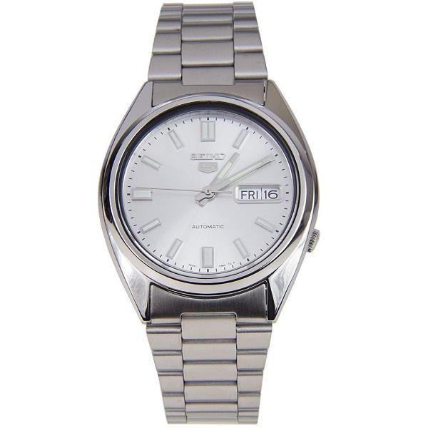 Seiko 5 Automatic White Dial Snxs73k1 Snxs73 Men Watch