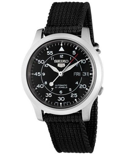 Seiko 5 Nylon Military Style Automatic Gents Watch SNK809K2