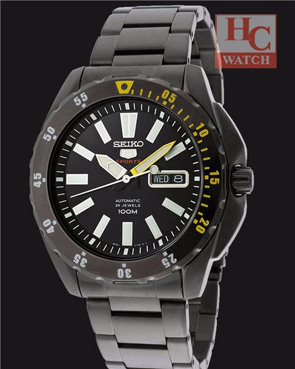 NEW Seiko 5 Sports Automatic Gents Watch SRP363K1