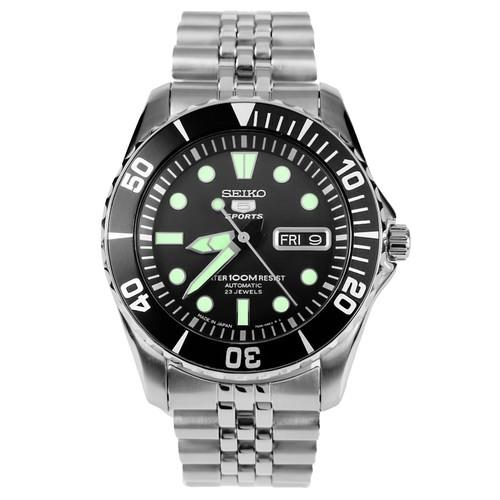SEIKO 5 Sports Automatic Jubilee Strap SNZF17J1 SNZF17 Mens Watch