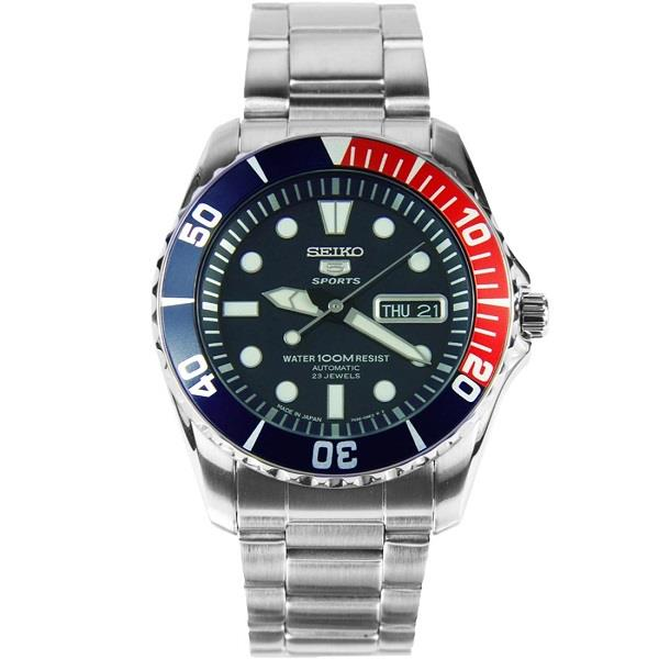 SEIKO 5 Sports Diver's Automatic Japan Made SNZF15J1 SNZF15 Men Watch