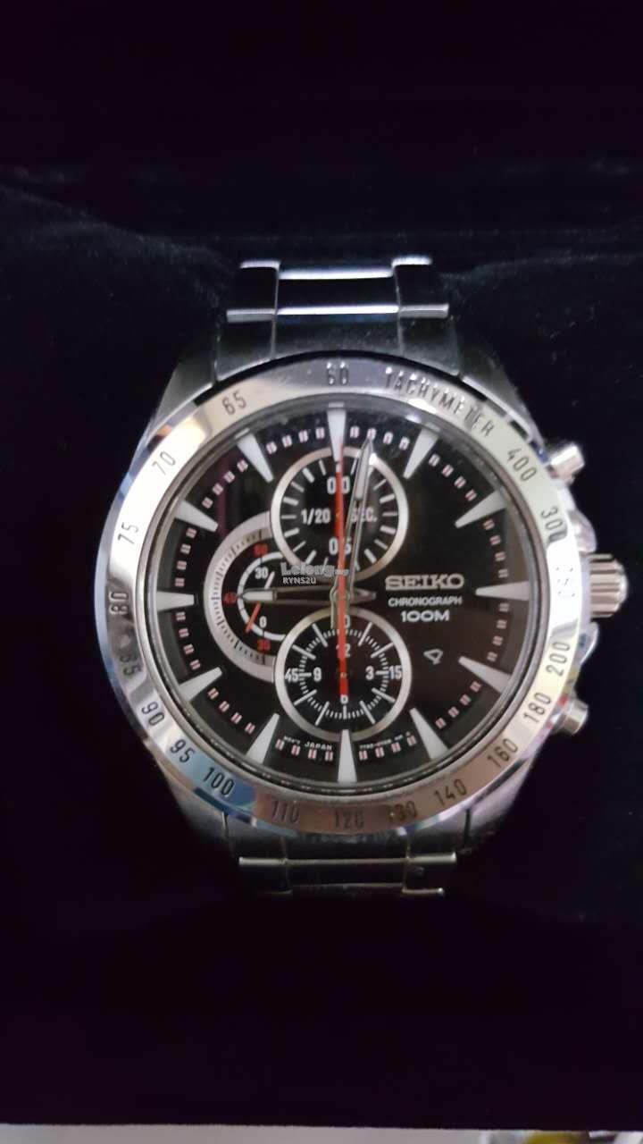 new style 66319 6cd43 SEIKO-7T92-0SZ0 original watch-2nd hand
