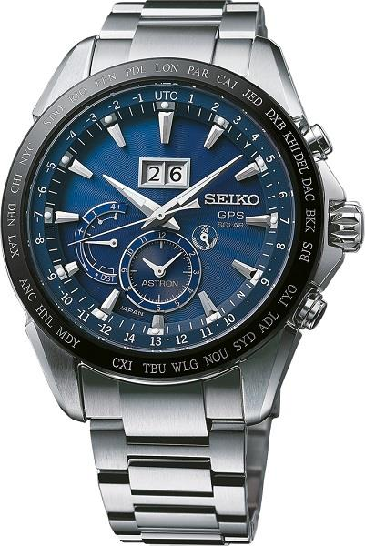 SEIKO Astron Solar GPS Dual Time Japan Made SSE147 SSE147J1