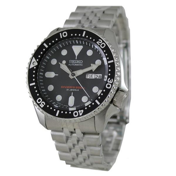 SEIKO Automatic Divers Jubilee Strap SKX007J2 SKX007J SKX007 Men Watch