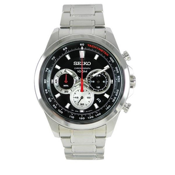 SEIKO Chronograph Quartz Tachymeter SSB241P1 SSB241 Mens Watch