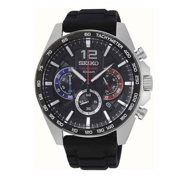 Seiko ChronographTachymeter Quartz Men's Watch SSB347P1