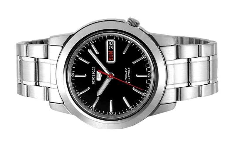 SEIKO Men 5 Automatic Classic Watch SNKE53K1 Black Dial