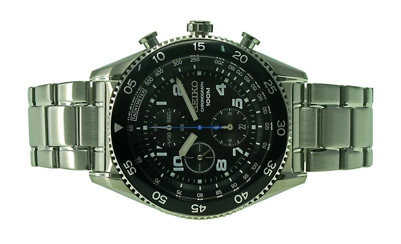premium selection 3a9fc 245bf SEIKO Men Chronograph Sports Watch SNDG59P1