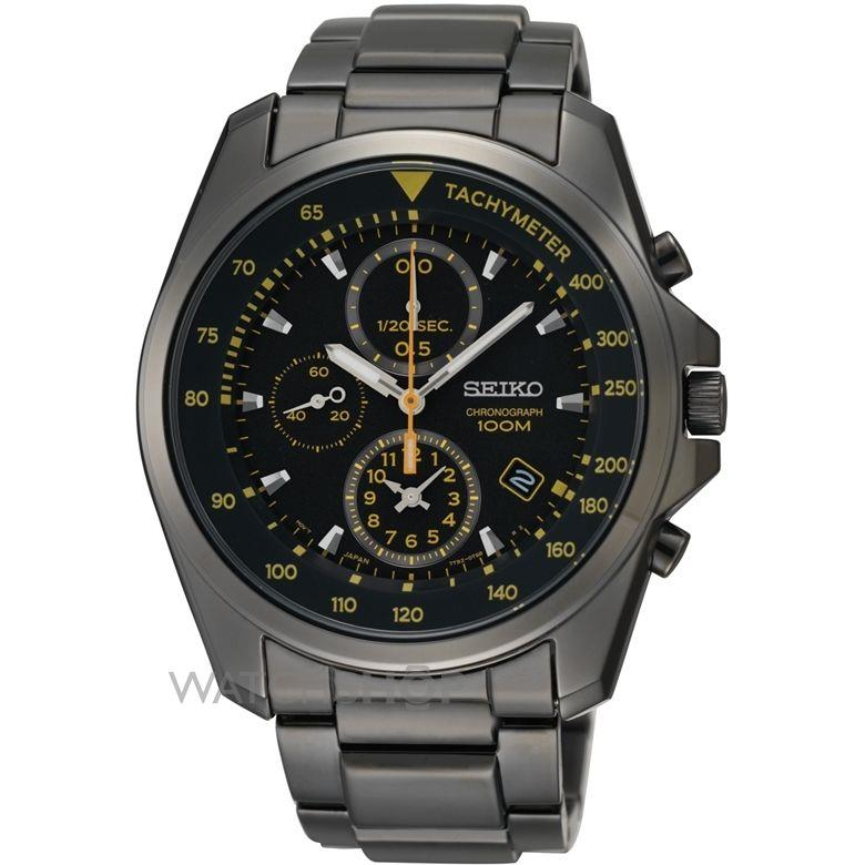 8cf608771 Seiko Men's Gents Chronograph Black S (end 5/2/2020 5:15 PM)