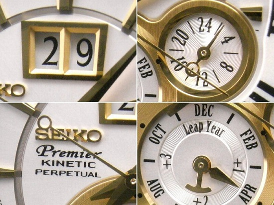 SEIKO Premier Kinetic Perpetual Calendar SNP022P1 SNP022 Men Watch