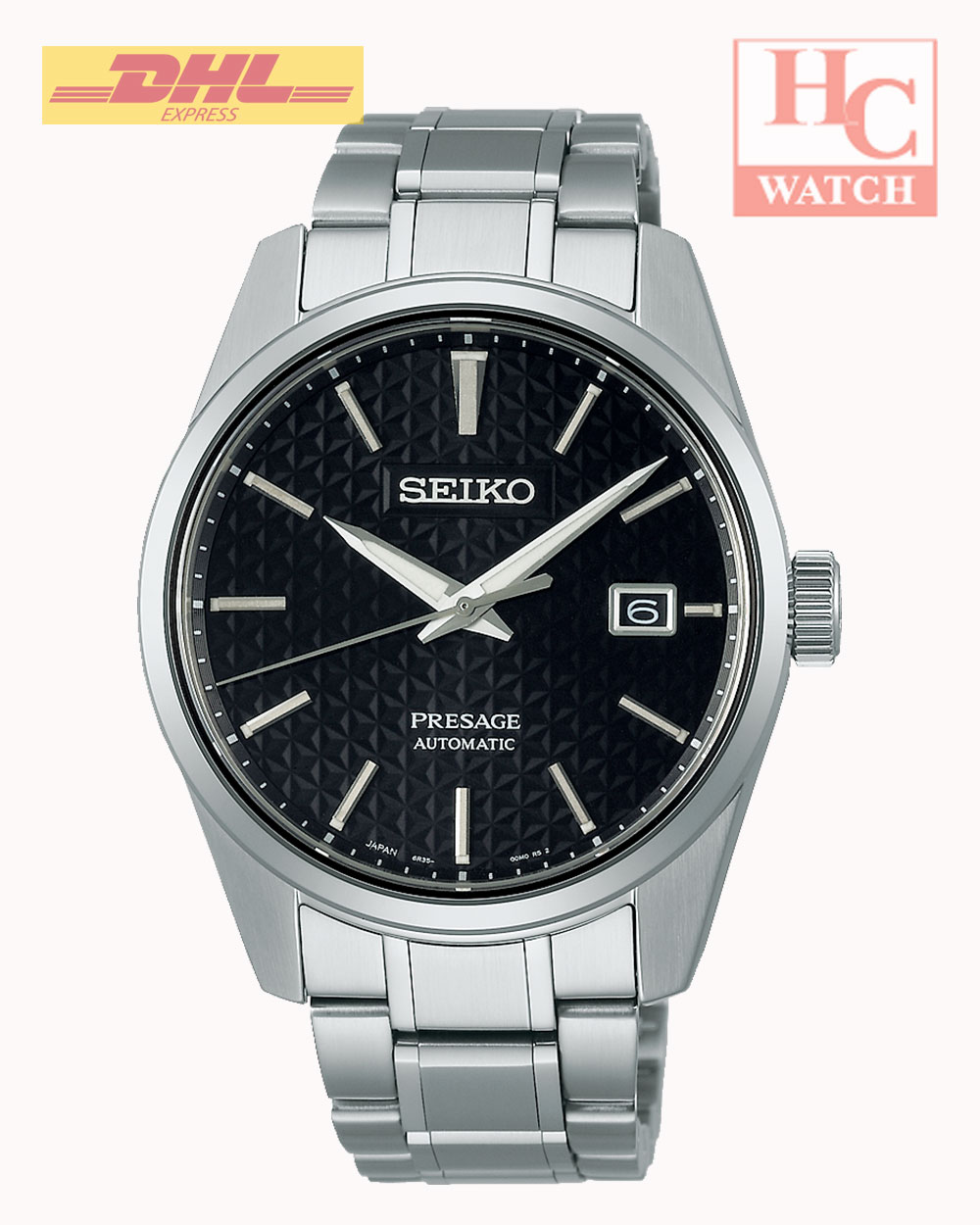 NEW Seiko Presage SPB203J1 Sharp Edged Series 100M MEN'S WATCH