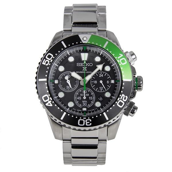 SEIKO Prospex Diver's Solar Chronograph SSC615 SSC615P1 Men Watch