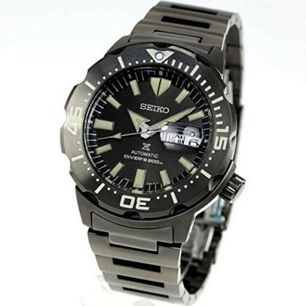 SEIKO Prospex Monster All Black Diver SBDY037 Men Watch (PreOrder)