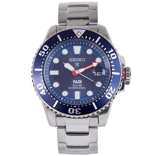 1e223d24d SEIKO Prospex PADI Solar Diver's SNE435P1 SNE435 Mens Watch. ‹ ›