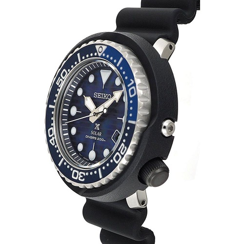 SEIKO Prospex 'Save The Ocean' Tuna Diver SNE518P1 SNE518 Men Watch