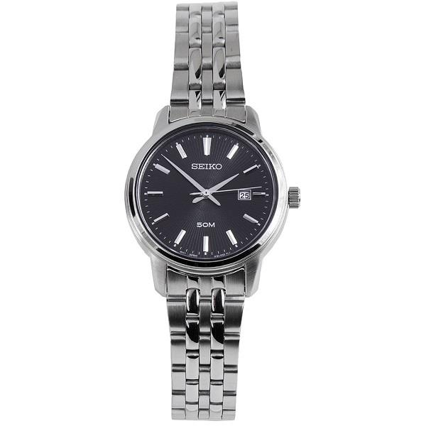 Seiko Quartz Black Dial Sur663p1 Sur663 Ladies Watch