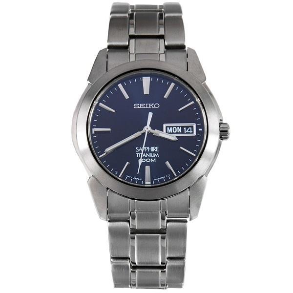 pretty nice 8e71a ed38f SEIKO Quartz Titanium Sapphire SGG729 SGG729P1 Mens Watch