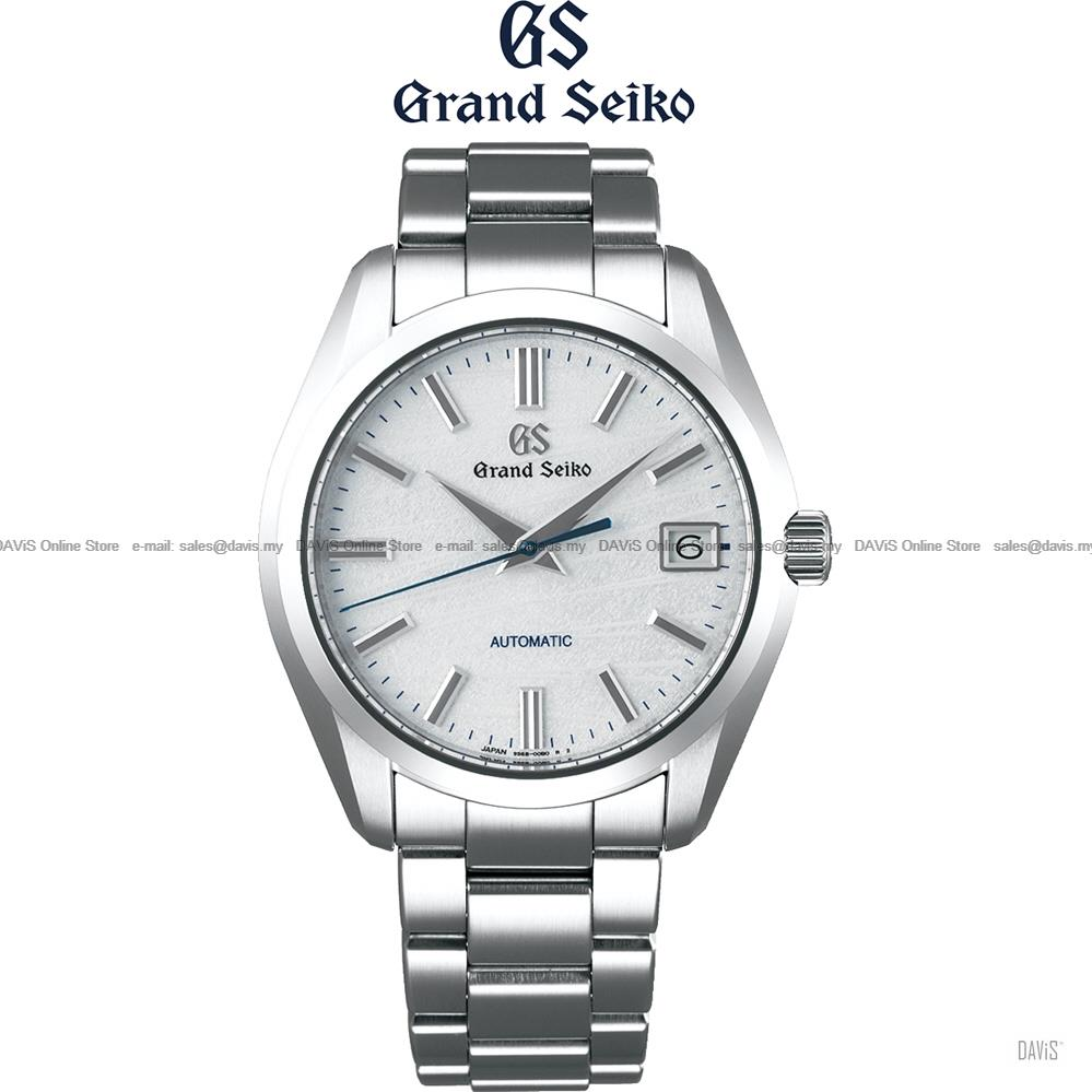 SEIKO SBGR319G Men's Grand Seiko Mt. Iwate Automatic Bracelet White