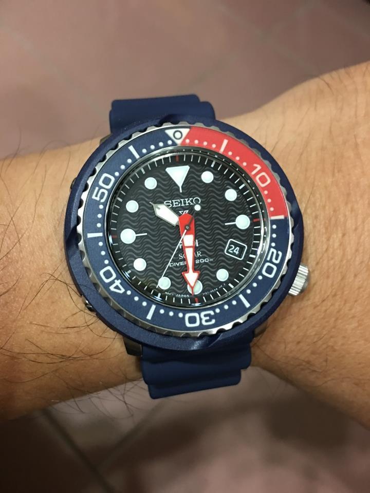 14b29df2e SEIKO . SNE499P1 . Prospex PADI . M . Diver . RSB . Solar . Blue