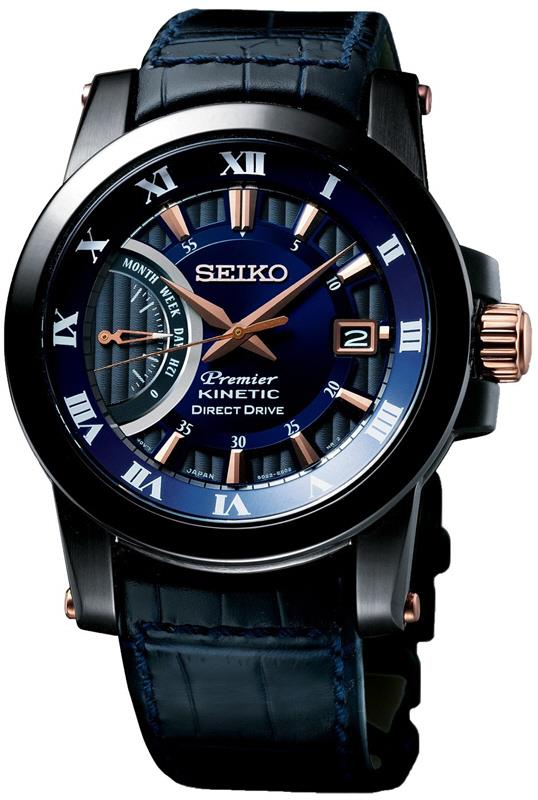 SEIKO SRG012P1 PREMIER 100th Anniversary LSB Kinetic Direct Drive Blue. ‹ › 2977716fdf