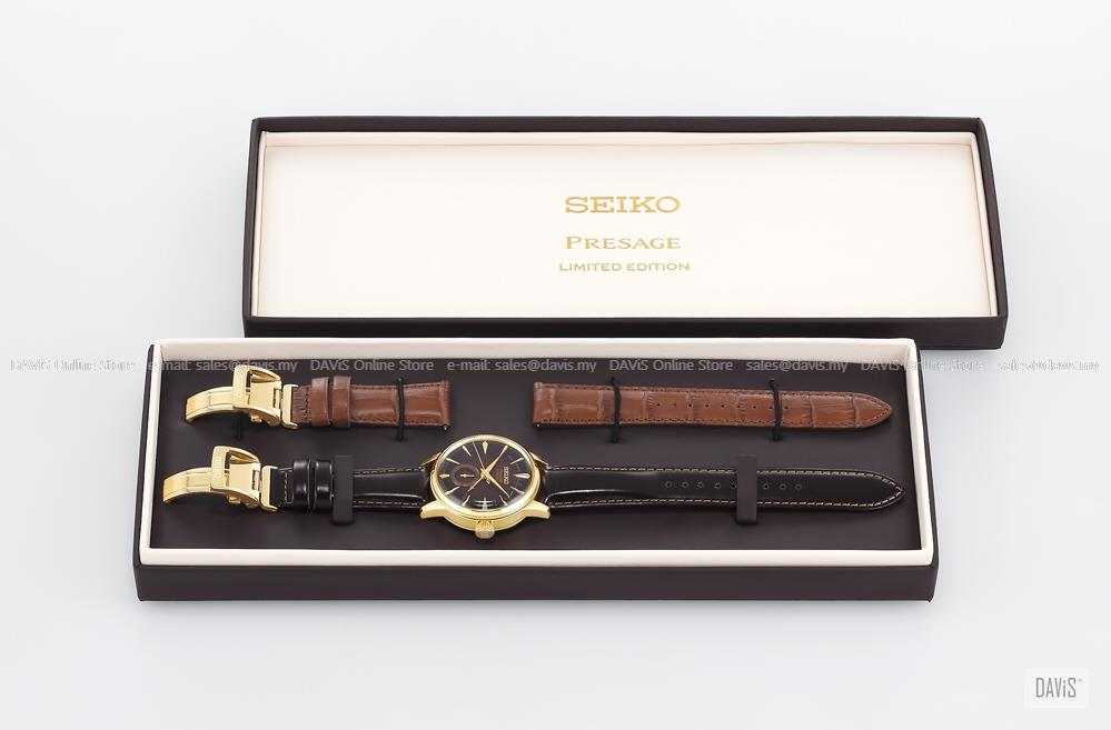 SEIKO SSA392J1 Men's PRESAGE Cocktail Old Fashioned Automatic Amber LE