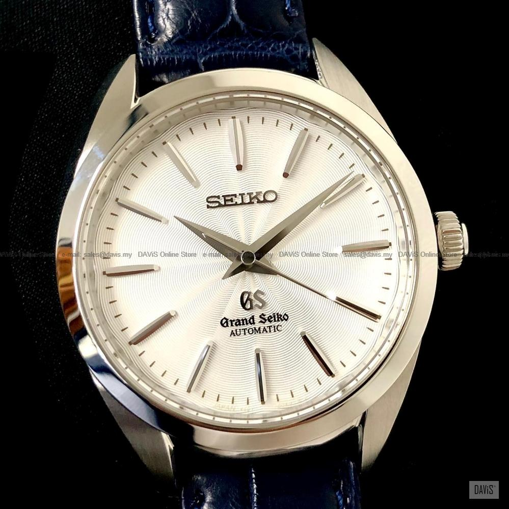 SEIKO STGR003 Women's Grand Seiko Automatic Leather Strap Blue