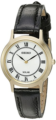 Seiko Women's 'Ladies Dress' Quartz Stainless Steel Dress Watch (Model: SUP304