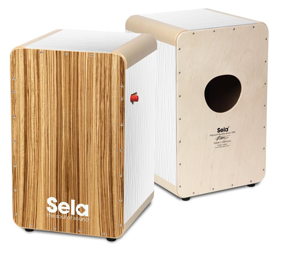 Sela SE 026 Wave Professional Snare Cajon with On/Off Mechanism -