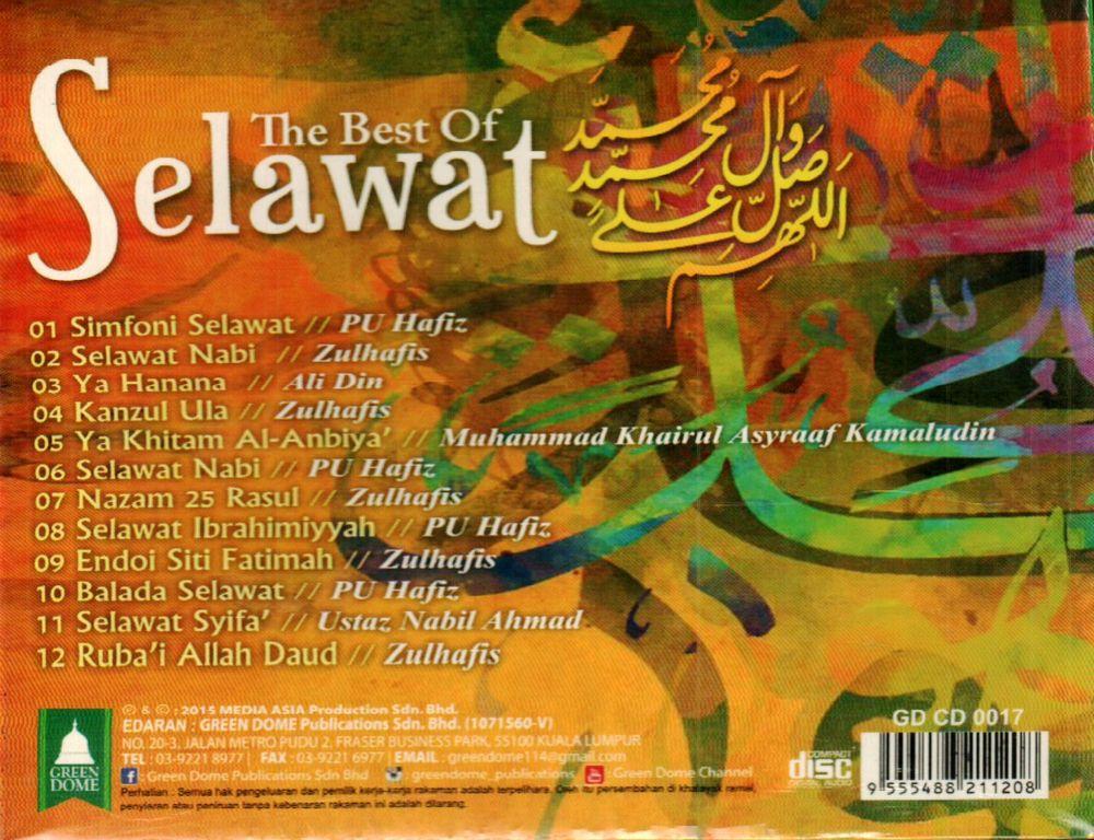 The Best Of Selawat CD