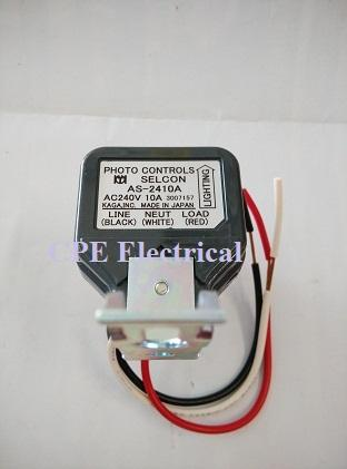 selcon photocell 2410a 10a photo control switch japan cpeelectrical 1605 11 cpeelectrical@10 selcon photocell as 2410a 10a photo (end 12 18 2018 6 15 pm) selcon photocell wiring diagram at nearapp.co
