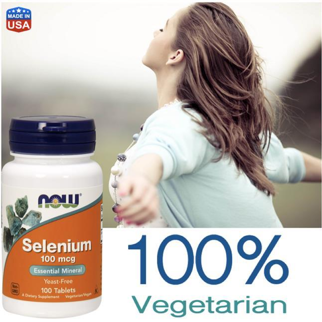 Selenium 100mcg, 100 tablets, Immune, Antioxident, Cancer Defense