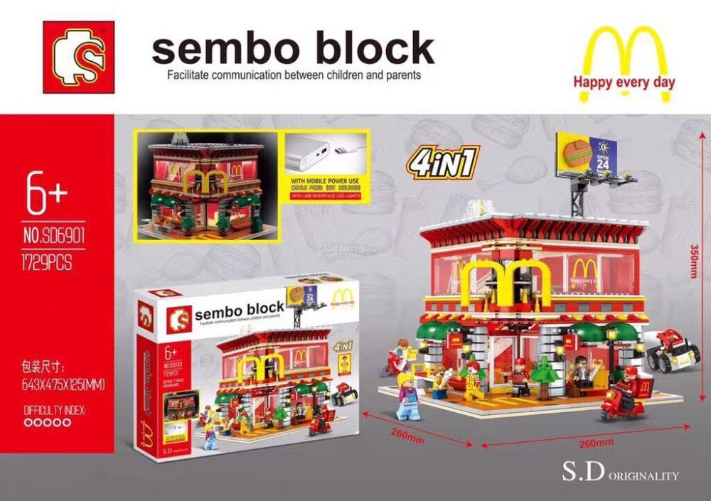 Sembo Block SD6901 McDonald Restaur (end 5/20/2018 12:15 AM)