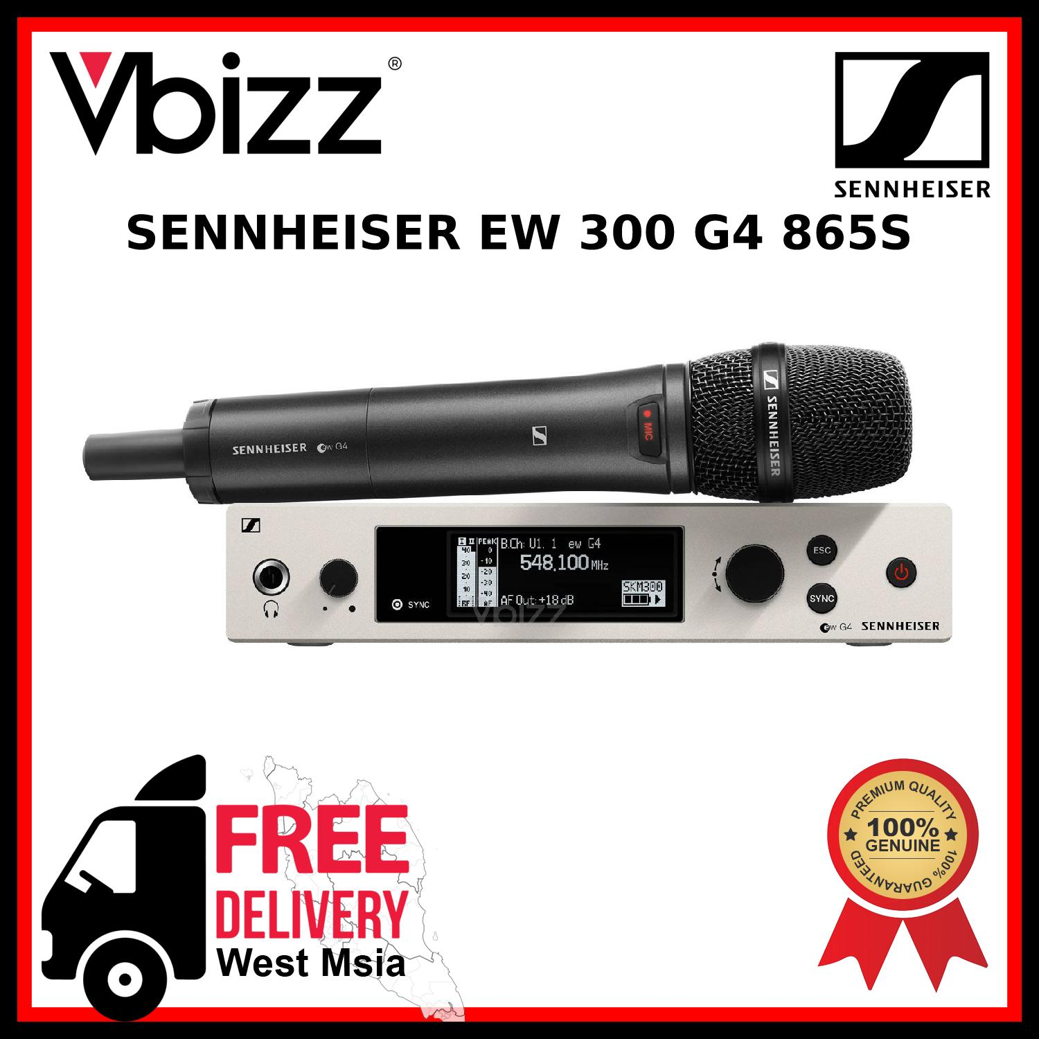 Sennheiser EW300 G4 865S *FREE DELIVERY* Wireless Microphone System