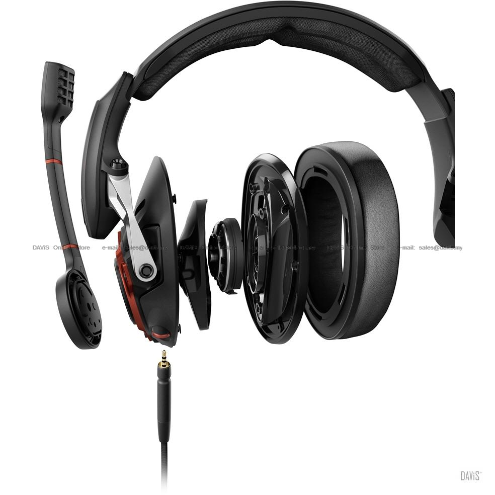 Sennheiser GSP 600 Professional Gaming Headsets Noise Cancelling