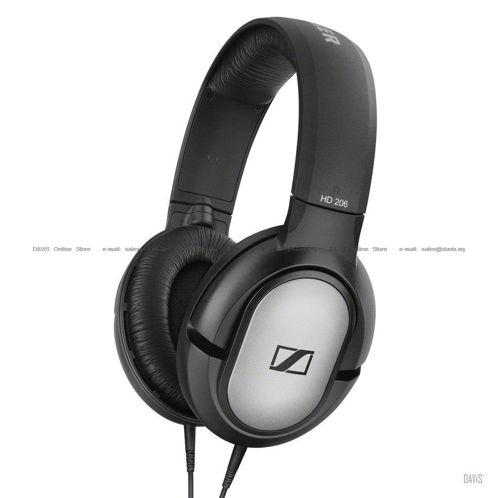 b35a0132d95 Sennheiser HD 206 Over-ear DJ Headphones Powerful Comfort Lightweight. ‹ ›