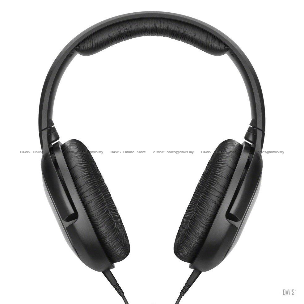 1227bb8d872 Sennheiser HD 206 Over-ear DJ Headphones Powerful Comfort Lightweight