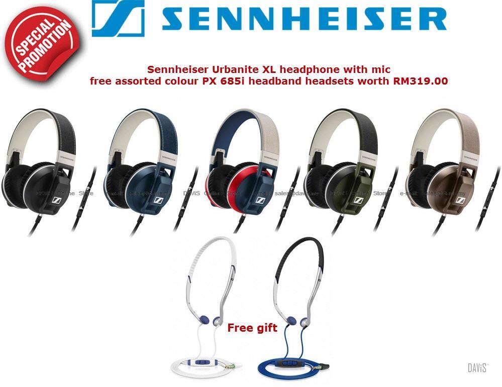 1f3398032f9 Sennheiser URBANITE XL Headphones Fr (end 9/10/2020 7:19 PM)