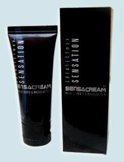 SENSA Cream 25 g - Proven Massage Cream for Men