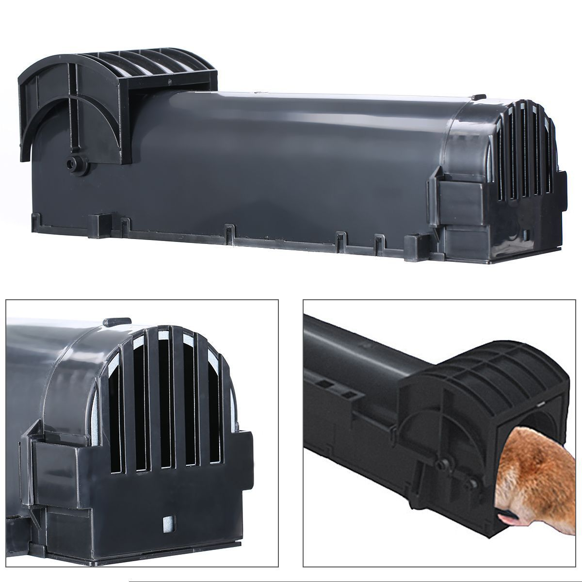 Sensitive Mouse Mice Rat Trap Rodent Animal Catch Bait Humane Live Ham..