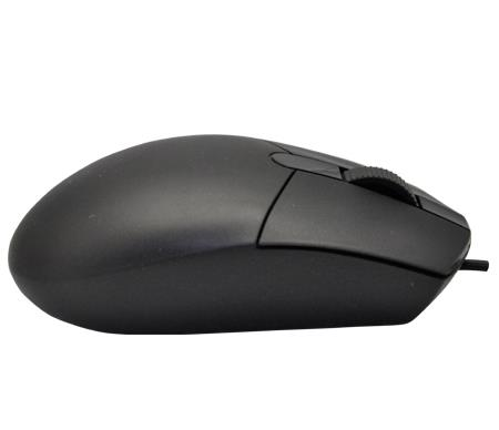 SENSONIC M18 USB WIRED OPTICAL MOUSE - BLACK