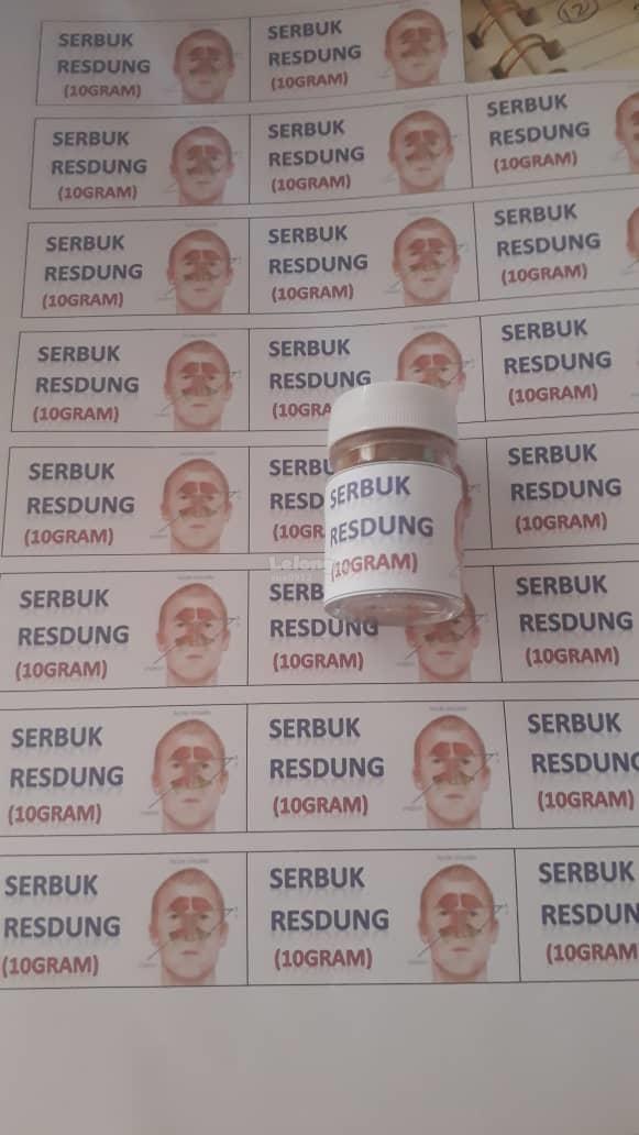 SERBUK RESDUNG DARI BUAH BERUK