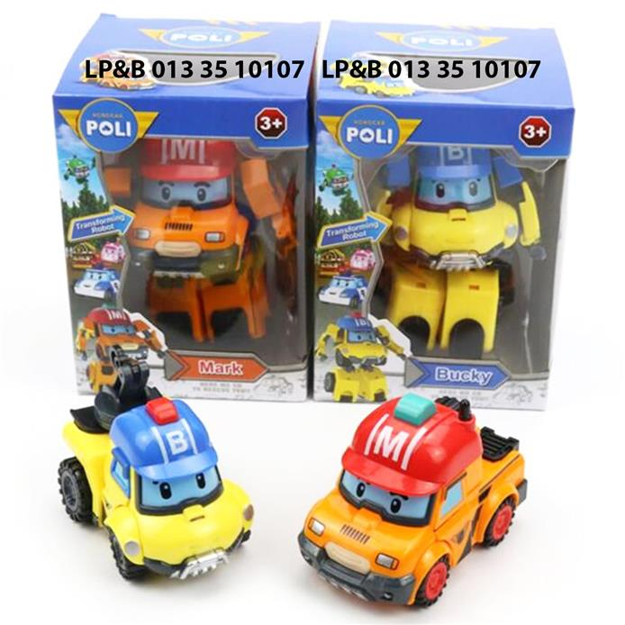 Set of 2 robocar poli mark bucky end 3 14 2018 8 15 pm - Robot car polly ...