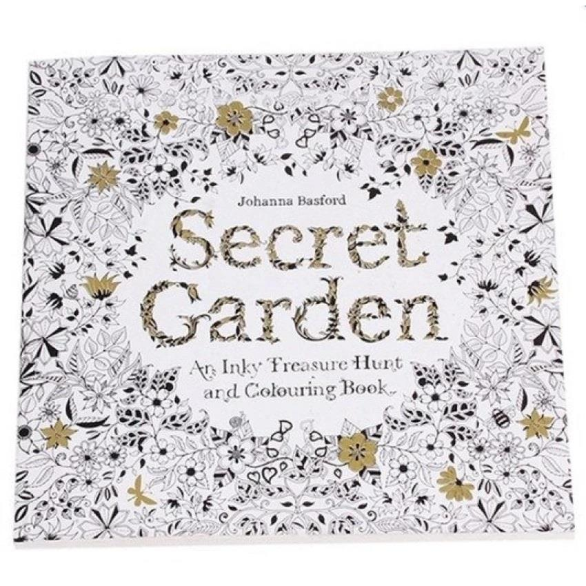 Set Of 5 Secret Garden An Inky Trea End 12 2 2018 1215 AM