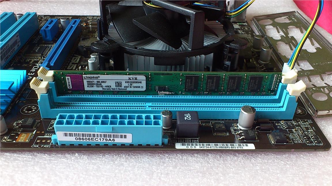 Set Core i3-2120 + Asus P8H61-M Plus V3 + 4GB DDR3 Ram Socket 1155