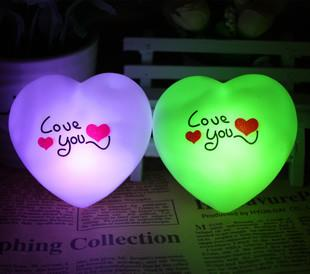 Seven Colours Love You Lamp